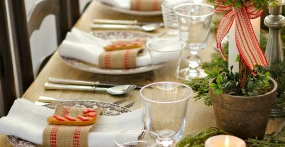 Mesas de comedor diseño navideño, irresistiblemente bellas.