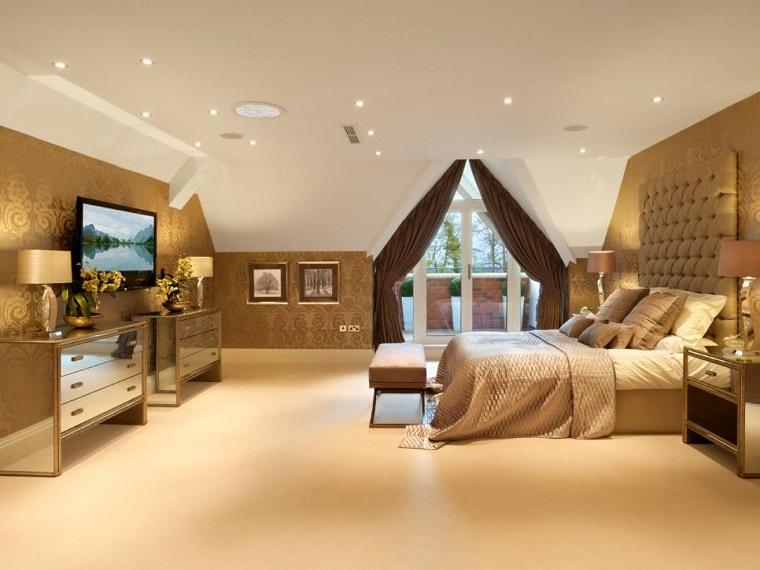 dormitorio ideas moderno paredes color otoño acogedor elegante precioso