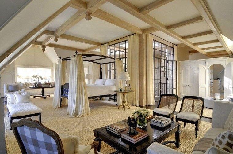 dormitorio ideas moderno paredes color otoño acogedor mesa sillones precioso