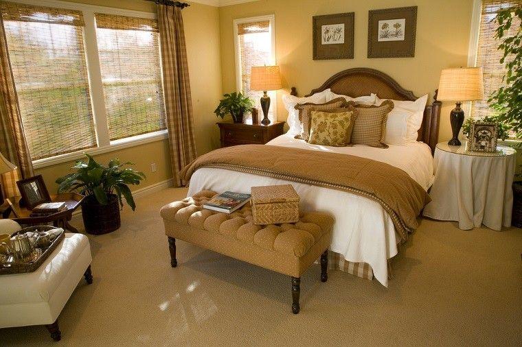 dormitorio ideas moderno paredes color otoño acogedor plantas precioso