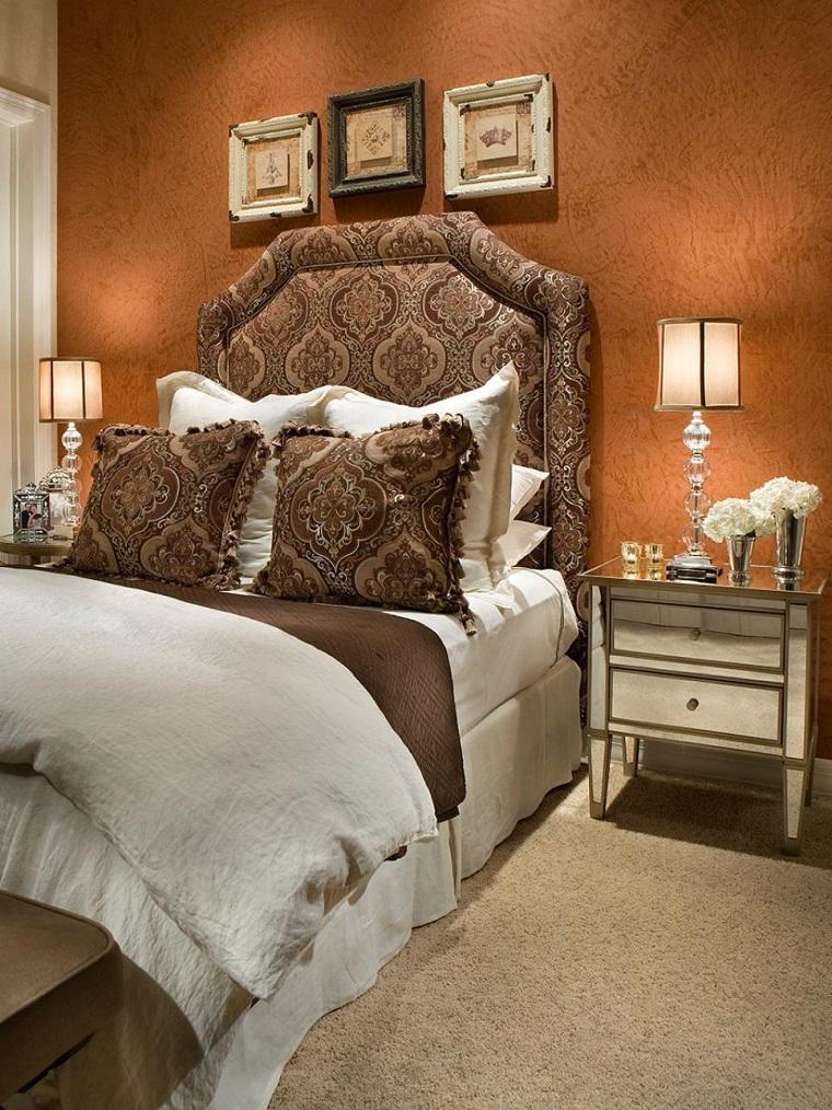 dormitorio ideas moderno paredes color otoño acogedor tonos tierra precioso