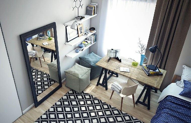dormitorio juvenil ideas chico original espejo grande moderno