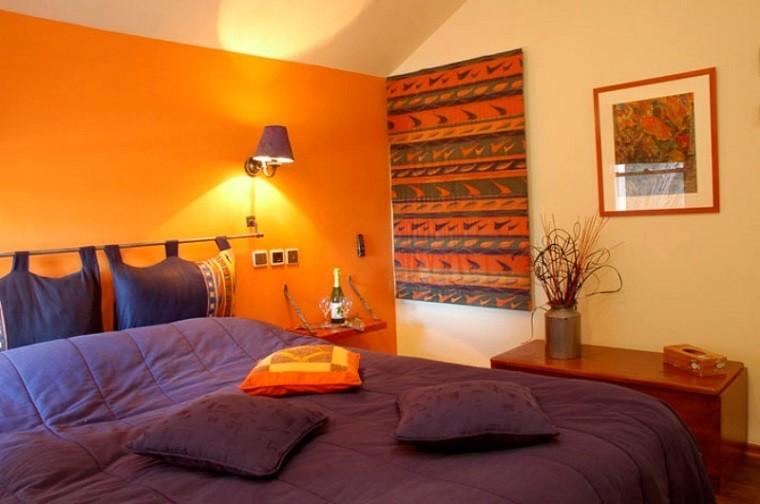 dormitorio moderno cuadro estilo vintage precioso ideas