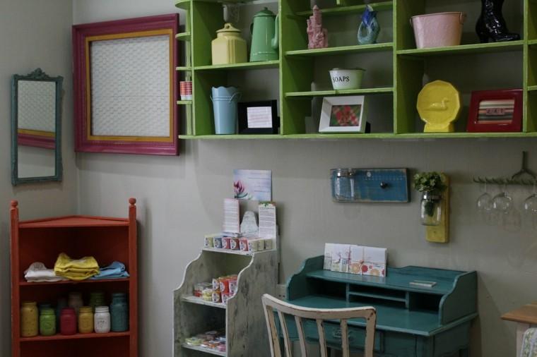 dormitorio infantil escritorio colores