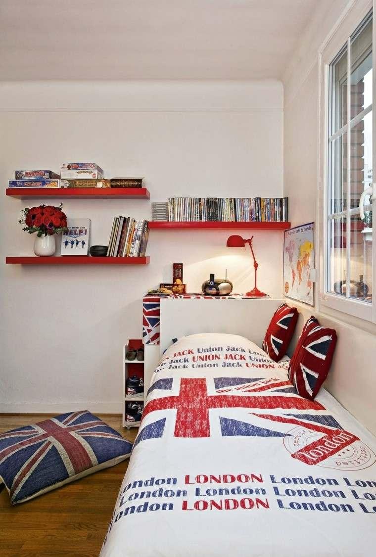 Dormitorio juvenil ideas originales para tu chico for Vinilos habitacion juvenil chico