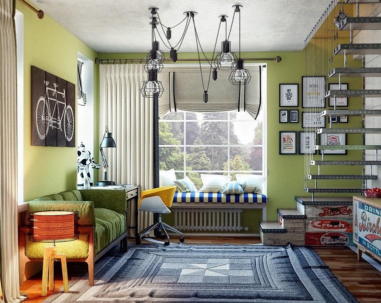 Dormitorio juvenil ideas originales para tu chico - Habitaciones juveniles originales ...