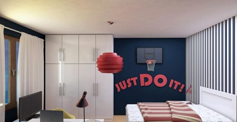 dormitorios-juveniles-chico-original-pared-azul-oscuro