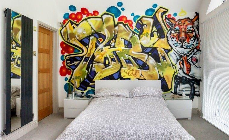 dormitorios-juveniles-chico-original-pared-grafiti-precioso