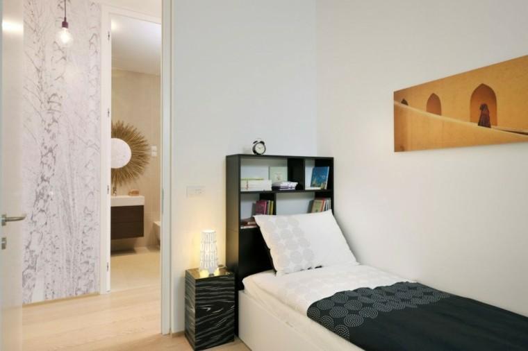 dormitorios juveniles chico original simple estante ideas