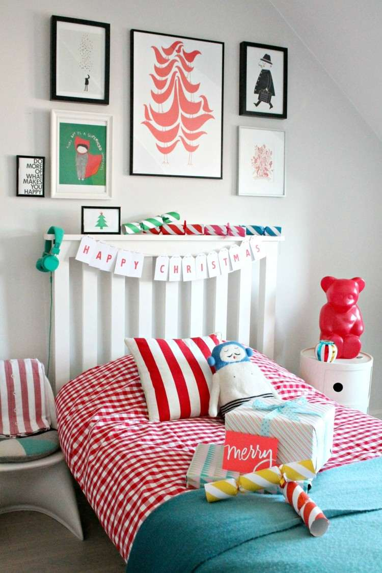 dormitorios navidad colorido infantil juguetes