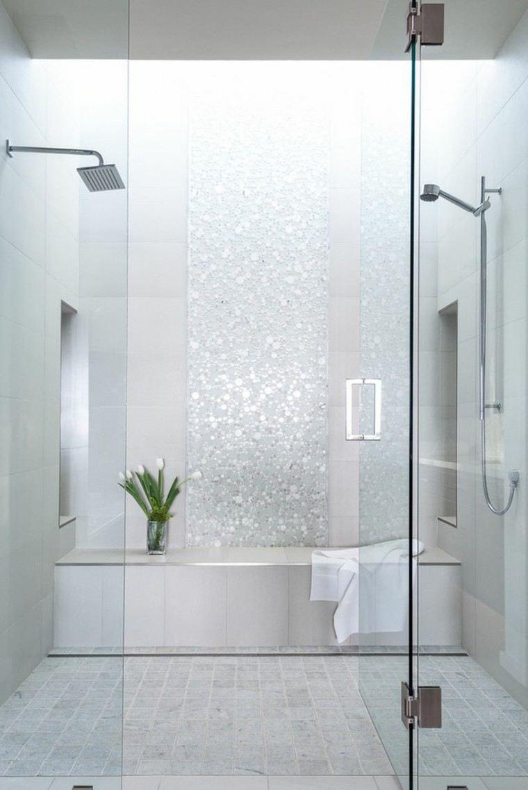 duchas relajacion diseño cristales flores