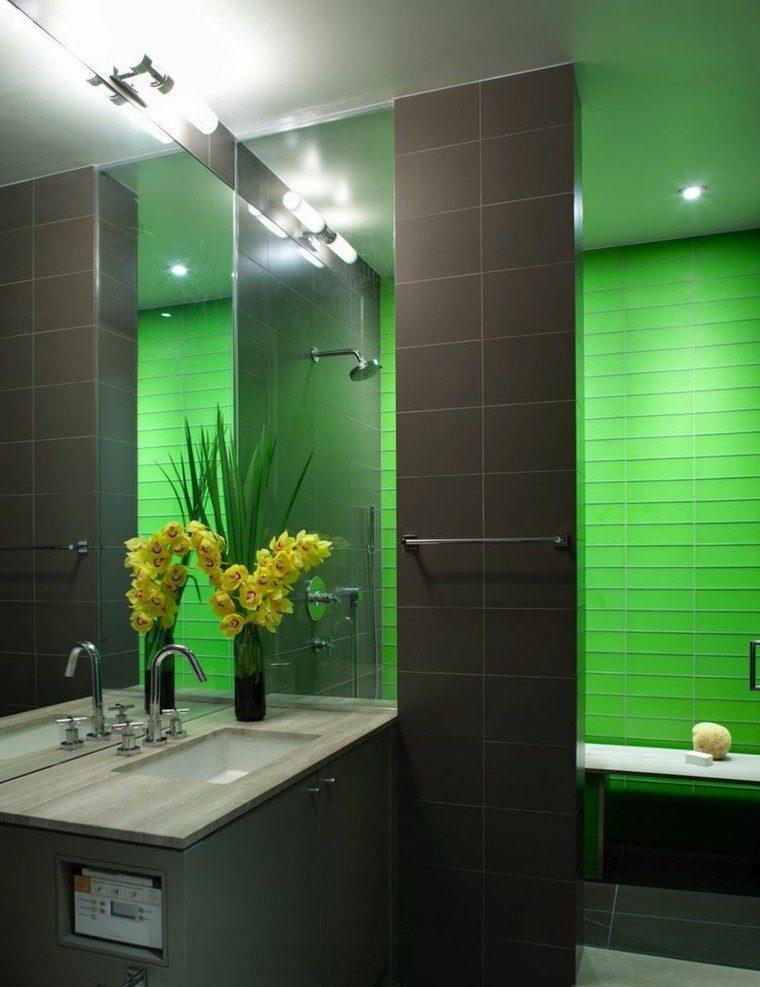 duchas relajacion verde claro amarillo