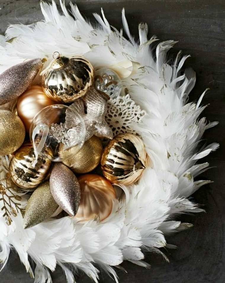 el dorado decoracion plumas suaves nido