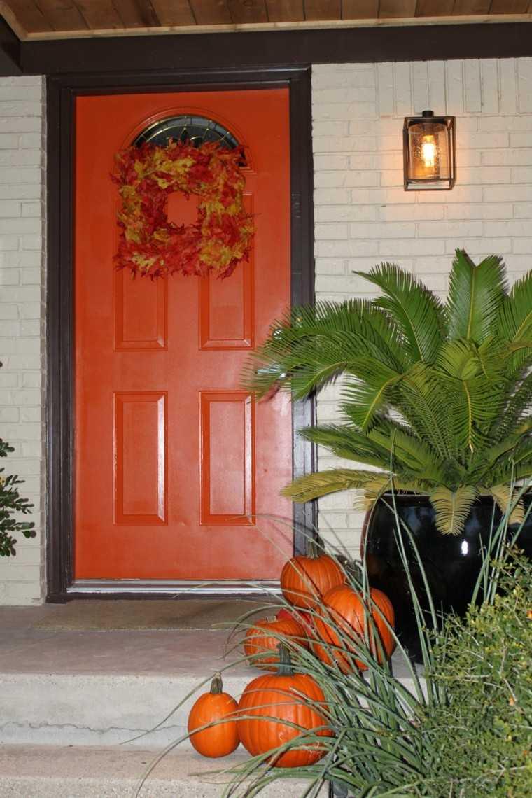 entrada casa puerta corona acceso
