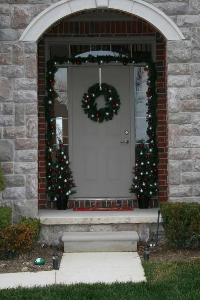 erntrada decoración navidad guirnaldas