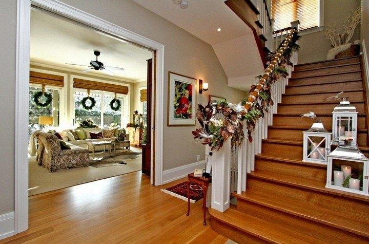 Escaleras de interior con decoraci n oto al 38 ideas - Decoracion escaleras de interior ...