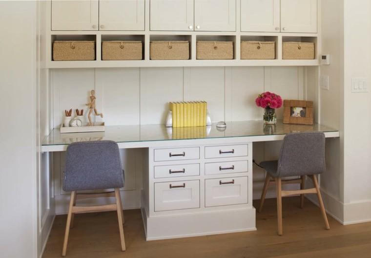 escritorio moderno estilos minimalista retro