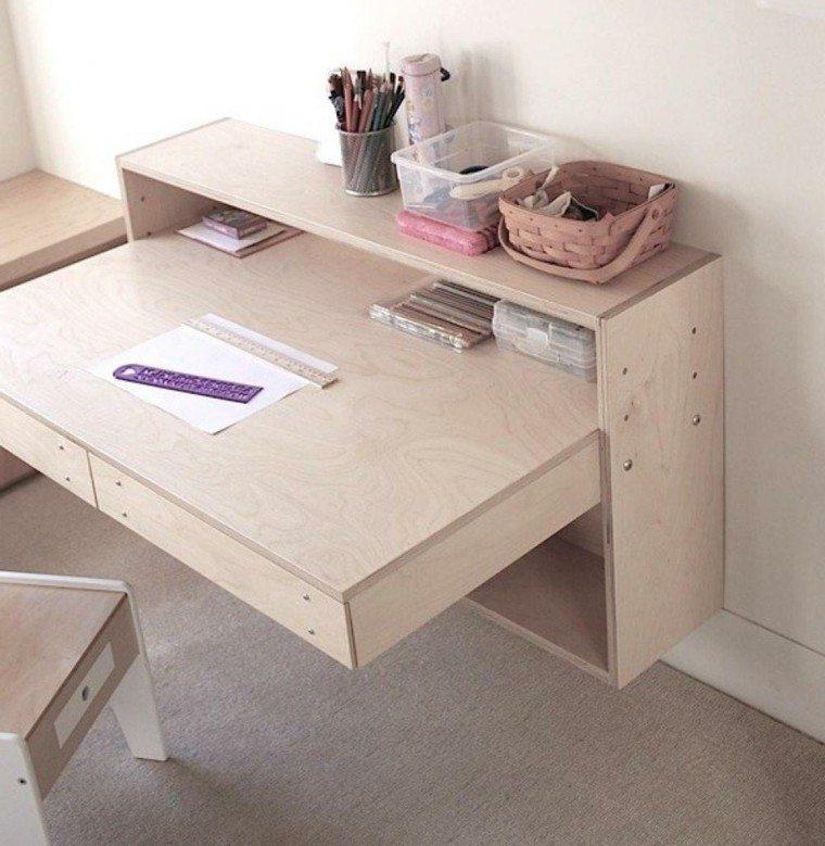 escritorios juveniles diseño moderno minimalista