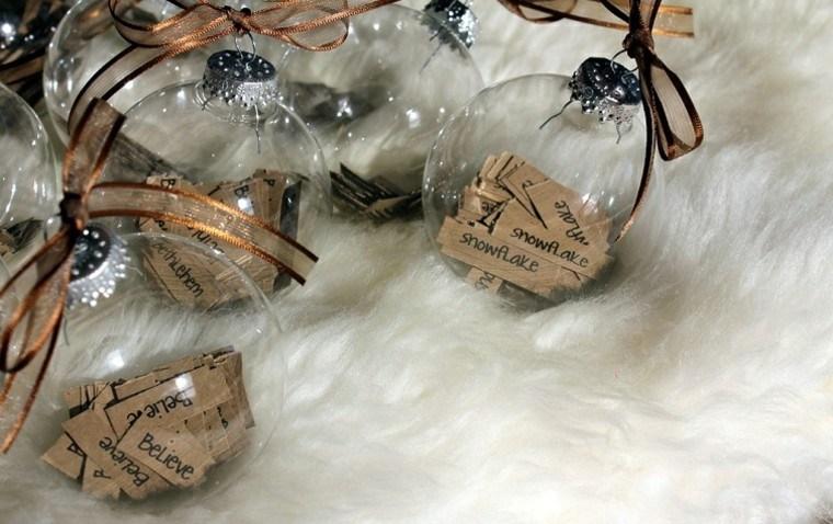 adornos navideños ideas navidad algodon esferas