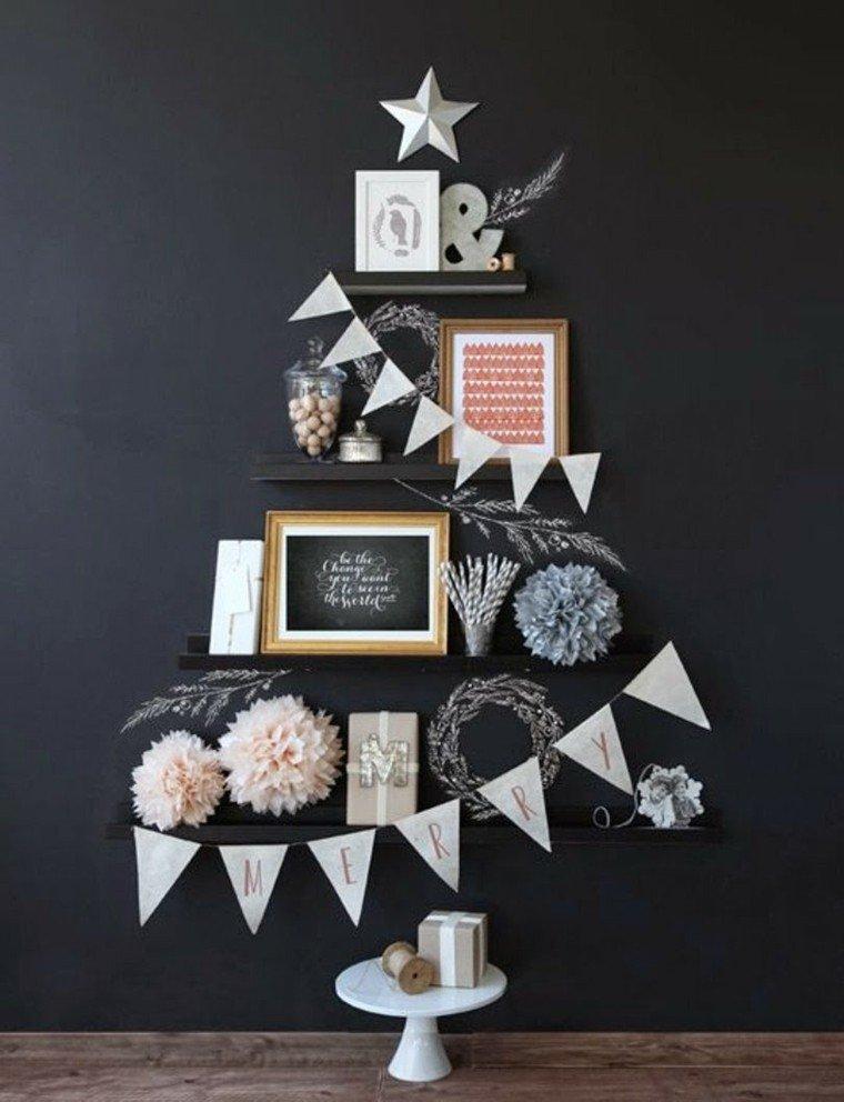 espacio imagenes navideñas creatividad gris guirnaldas