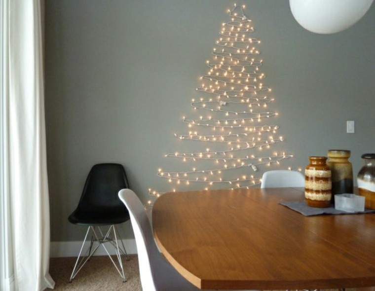 espacio imagenes navideñas luces sillas