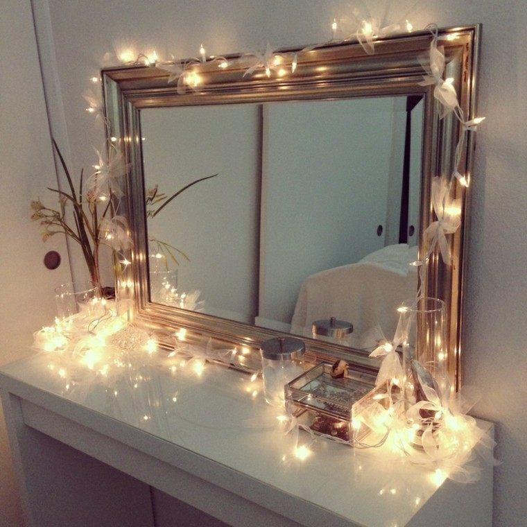 espejo casa lazos decorado marco