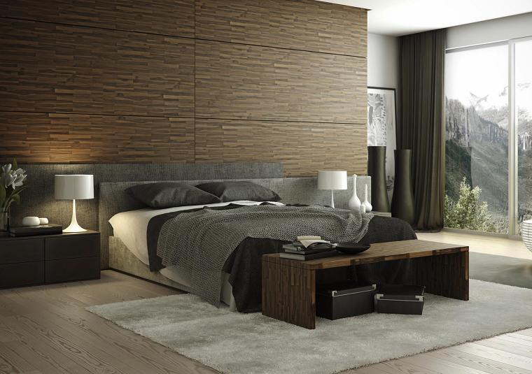 Estilo sexy en el dormitorio masculino 50 ideas brillantes - Bancos para dormitorio matrimonio ...