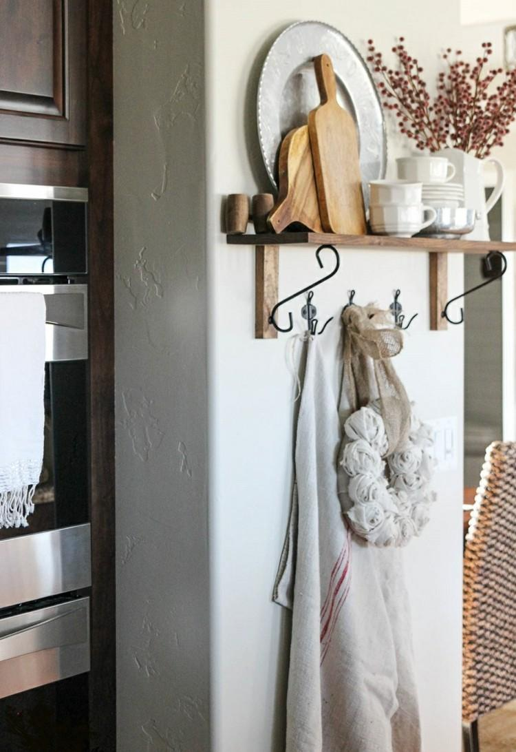 estilo salon cocina decorado puertas