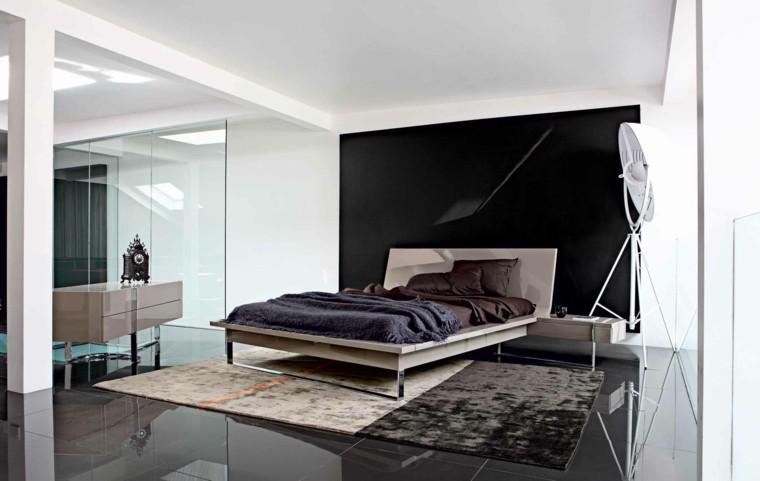 estilo sexy dormitorio masculino moderno cama negro marron ideas