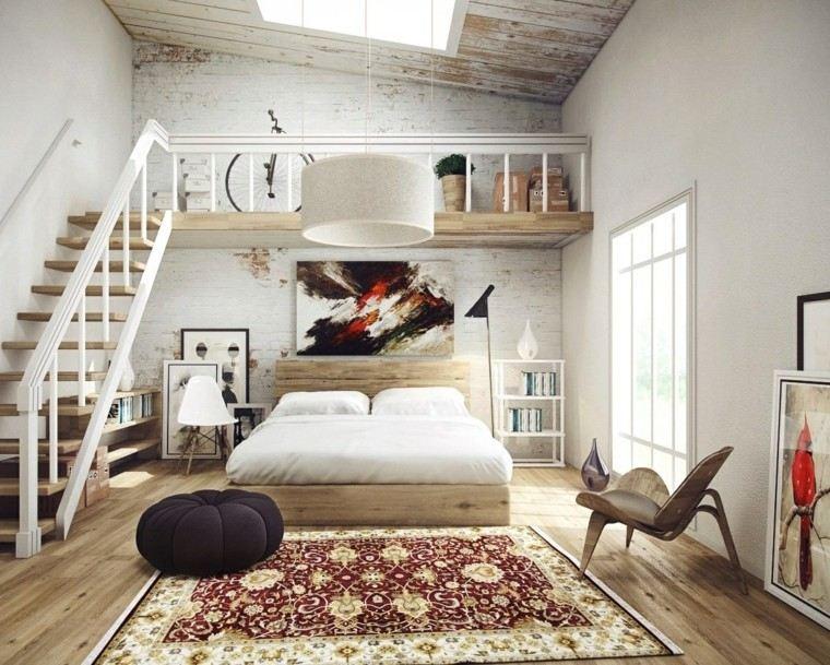 estilo sexy dormitorio masculino moderno diseno atico ideas