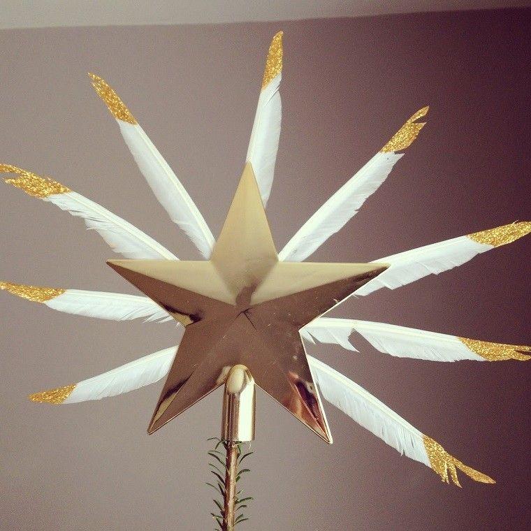estrella dosrad decoracion diseño plumas