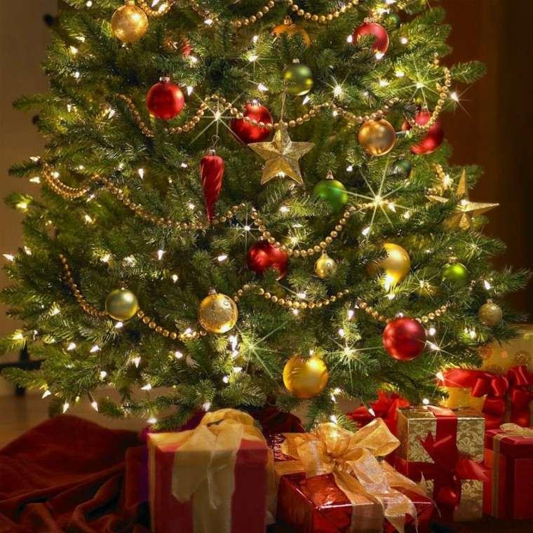 estrellas navidad decorando casa adornos oro ideas