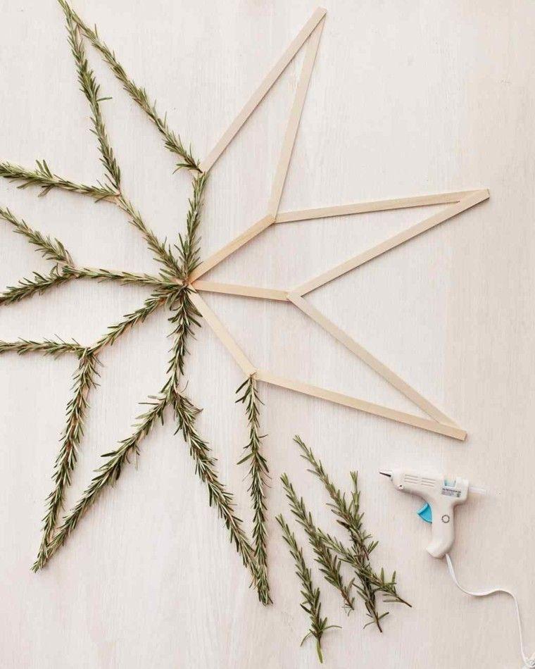 estrellas navidad laminas madara ramas abeto ideas