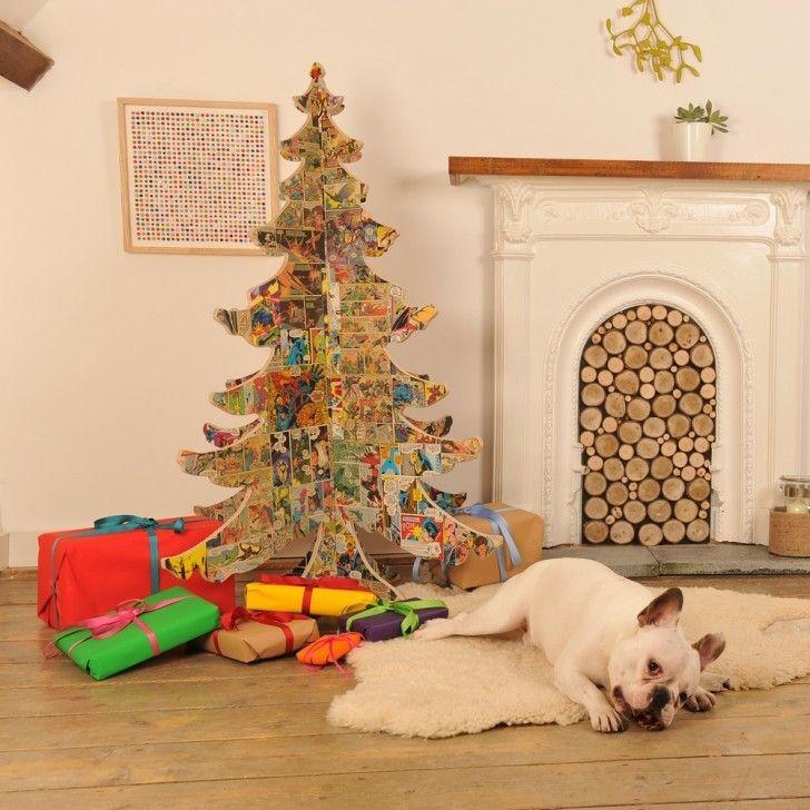 Como decorar un salon para la navidad 50 ideas - Como decorar pinas para navidad ...