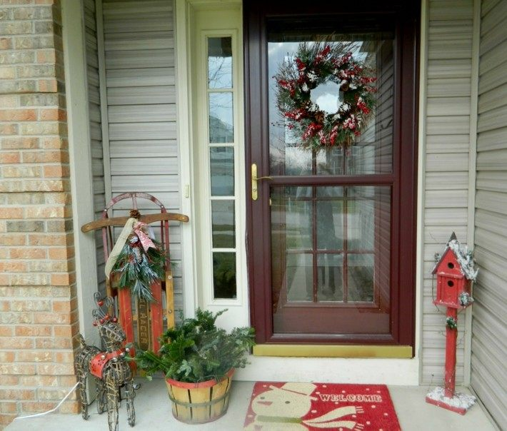 estupenda decoración navidad moderna