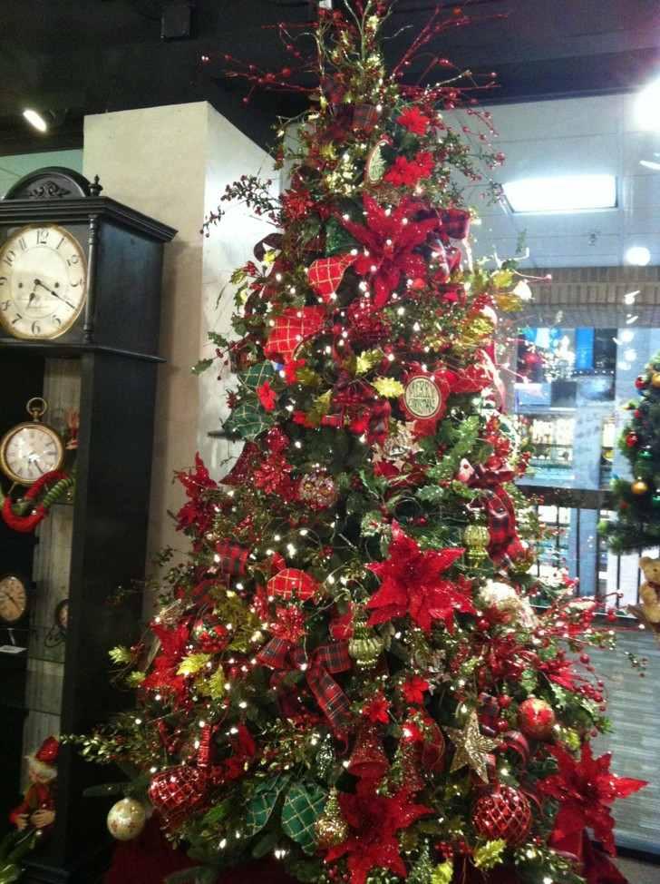 estupenda decoración arbol navidad