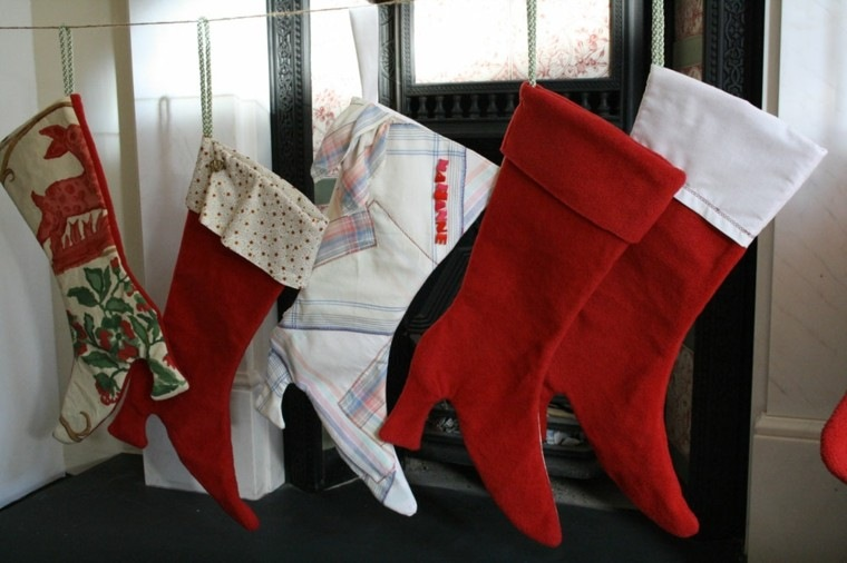 estupendas medias navidad tacones botas