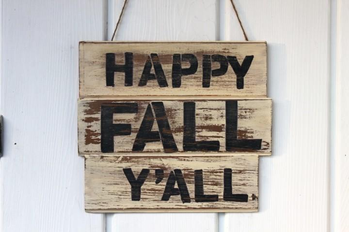 estupendo cartel diseño minimalista otoño