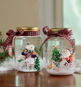 Rojo y gris para la decoracin navidea de este ao