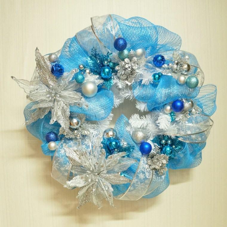 Azul y plata para un ambiente navide o fresco y elegante for Arbol navidad turquesa
