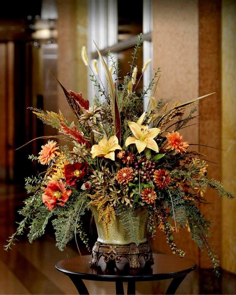Fotos de flores de oto o para decorar la casa for Fotos de plantas en macetas