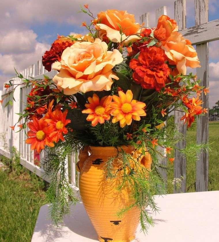 Fotos de flores de oto o para decorar la casa for Ideas geniales para decorar la casa