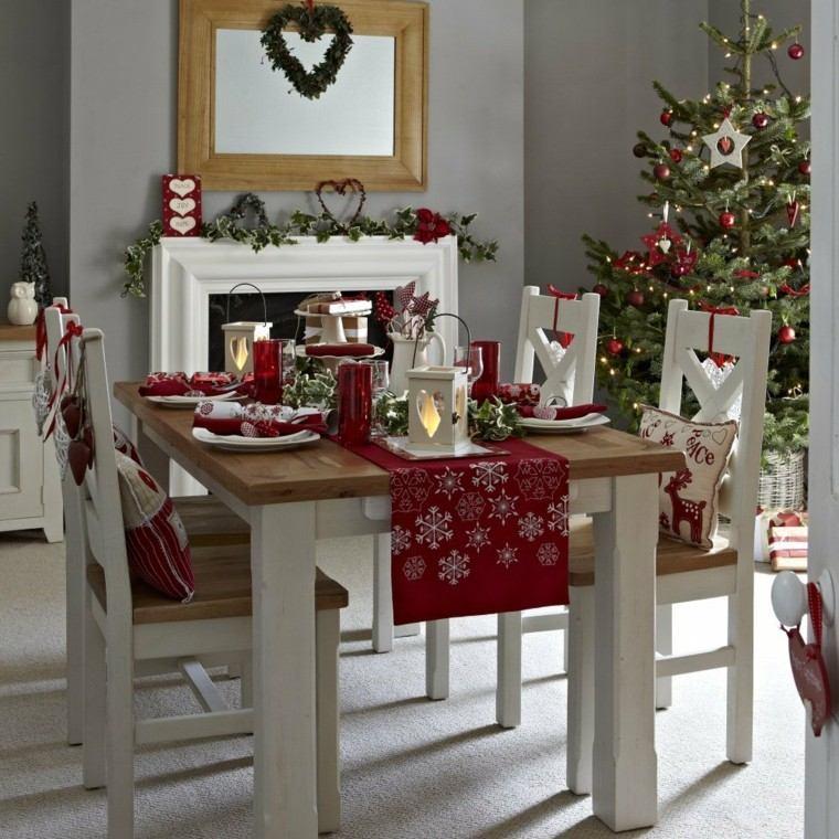 Comedores navidad y decoraci n ideas impactantes for Decoracion navidena hogar