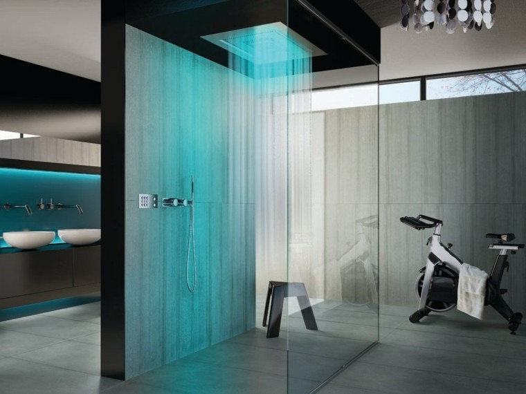 futurista estilo bicicleta lavabo moderna