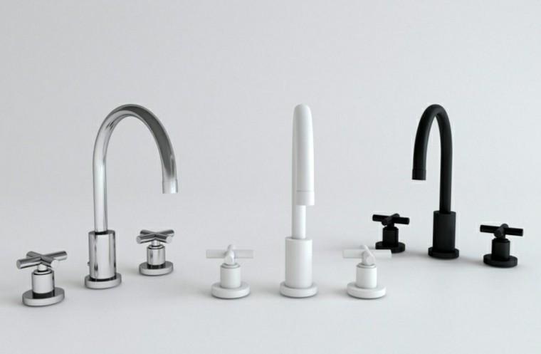 Grifos de cocina y accesorios de ba o en negro 50 ideas for Grifos de cocina bricomart