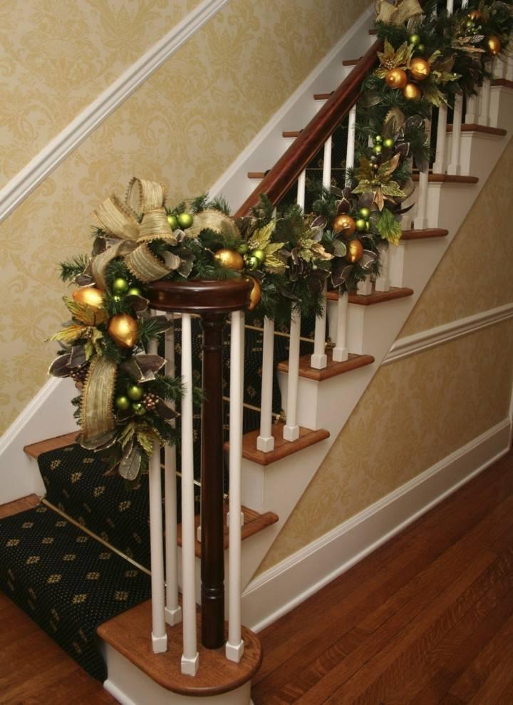 Escaleras de interior con decoraci n oto al 38 ideas for Escaleras de adorno