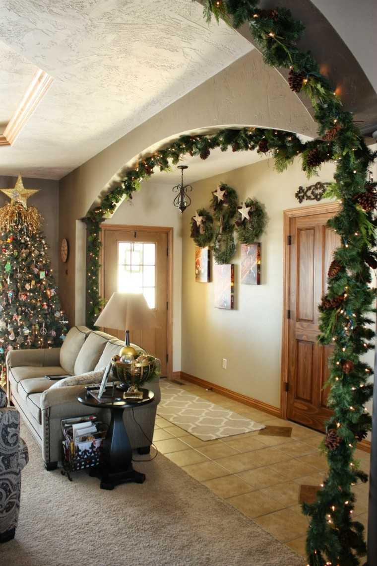 Decorar Escaleras Para Navidad Con Pi Ef Bf Bdas