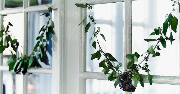 guirnaldas estilo casa diferente ventana