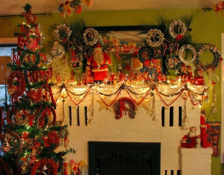 guirnaldas navideñas caseras decorativas