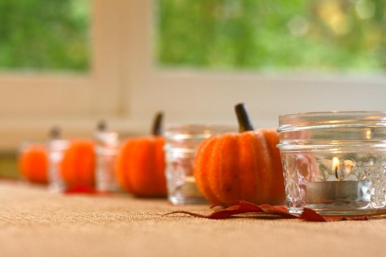 hoja detalles mesa velas minimalista
